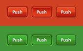 Más de 200 botones CSS3