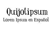Quijotipsum: Lorem Ipsum en español